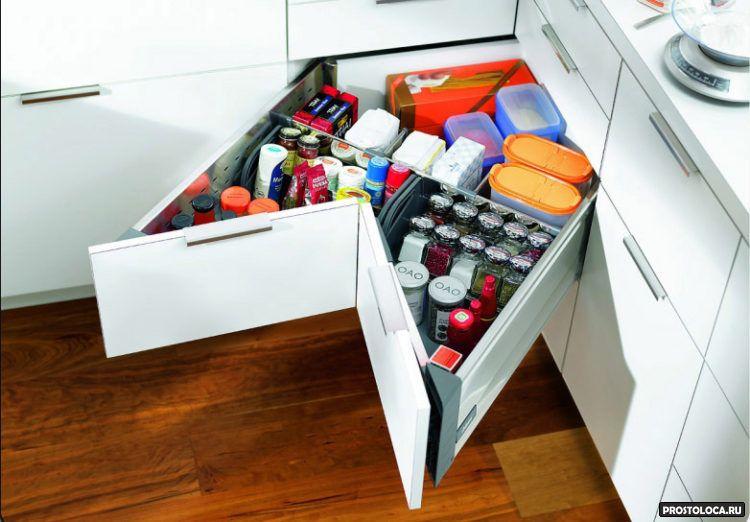 удобный ящик для кухни