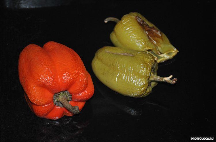 Печеный болгарский перец