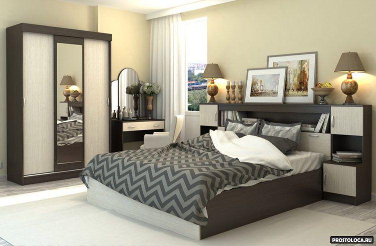 уютная спальня 11