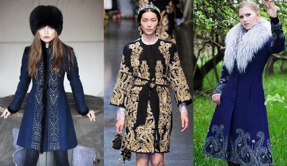 пальто в этническом стиле 1