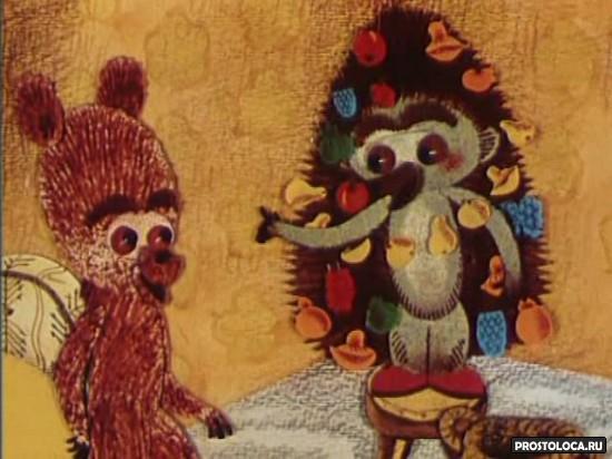 новогодние мультфильмы советские