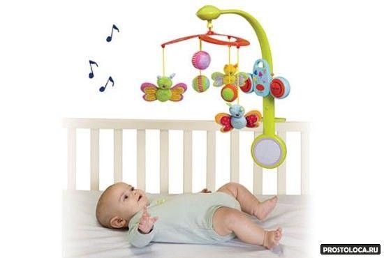 как выбрать мобиль для новорожденного