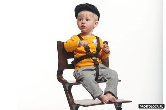 ремни безопасности на стульчике
