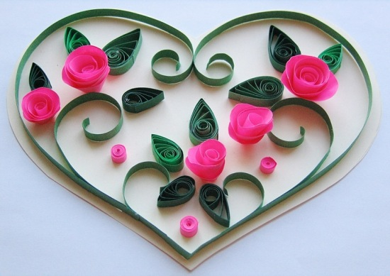 Валентинки ручной работы