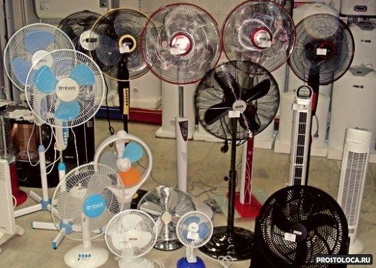 какой вентилятор выбрать