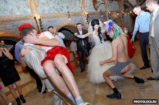 колхозная свадьба