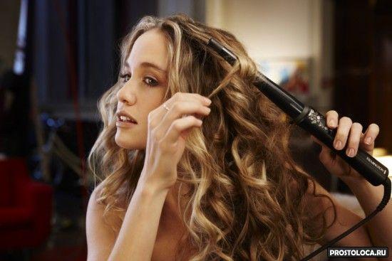 конусная плойка для укладки волос