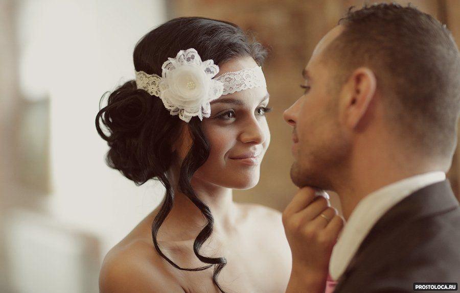 Фото свадебных украшений для свадебной прически с короткими волосами