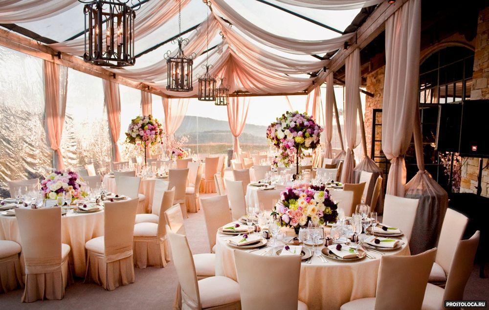 Интерьер для свадьбы