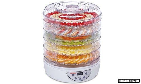 сушилка для овощей и фруктов с высокими лотками