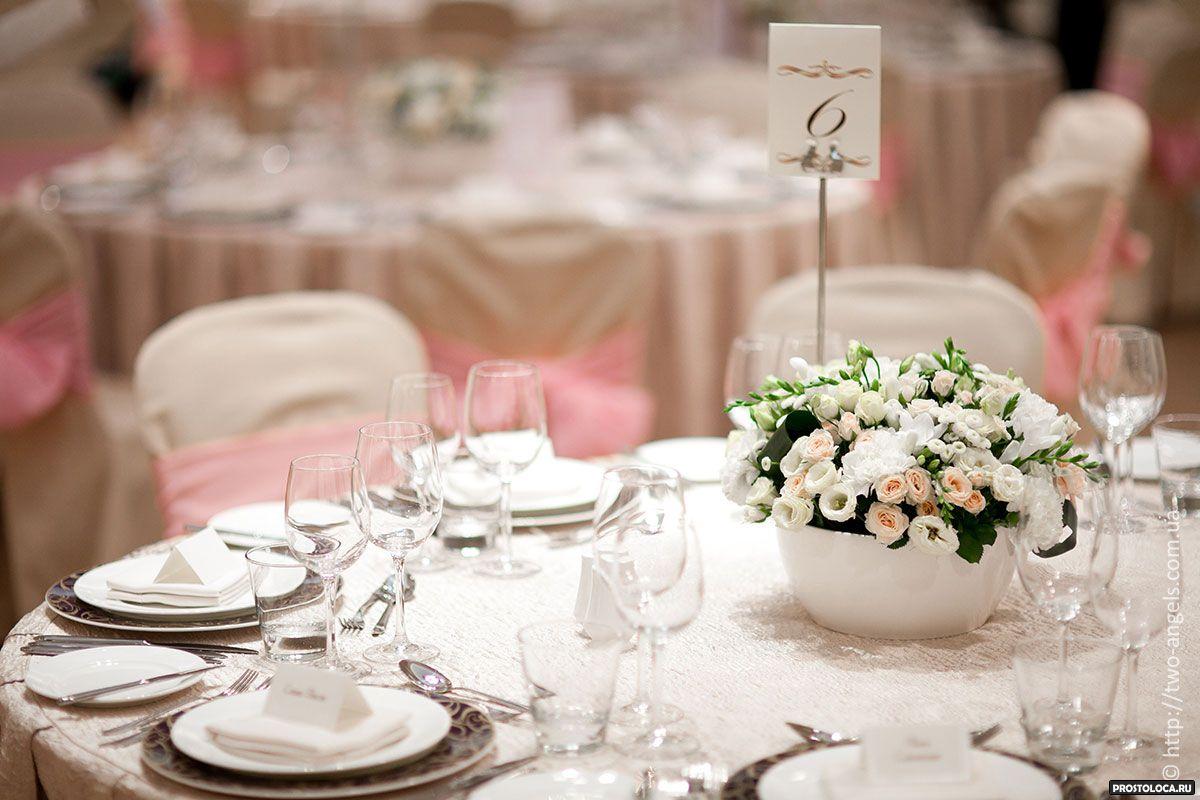 Украшаем стол на свадьбу своими руками фото