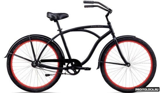 городской велосипед круизер