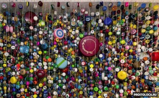 коллекция игрушек йойо