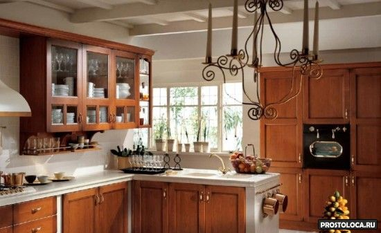 кухня в стиле кантри 2