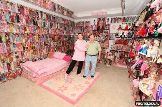 мужчины коллекционеры кукол