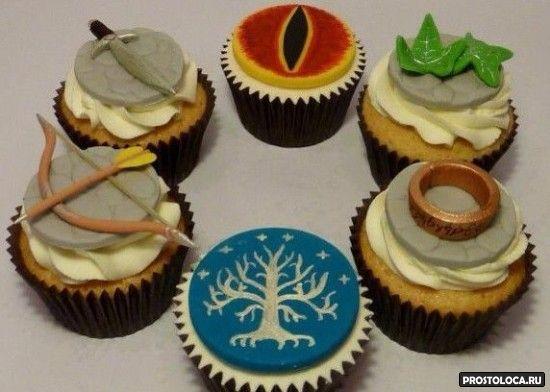 пирожные в стиле властелин колец