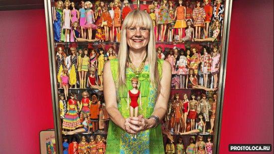 самая большая в мире коллекция кукол барби