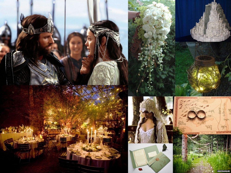 Fantasy elf wedding