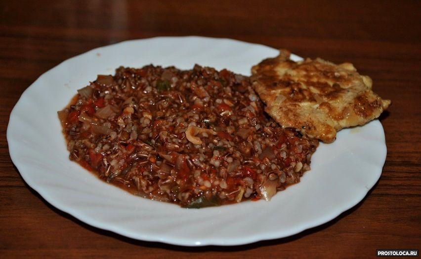 красный рис рубин рецепты приготовления в мультиварке