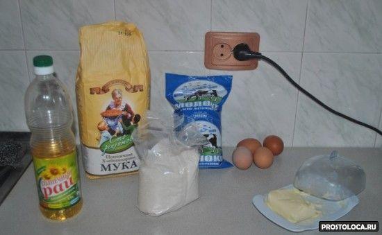 блины на молоке рецепт с фото
