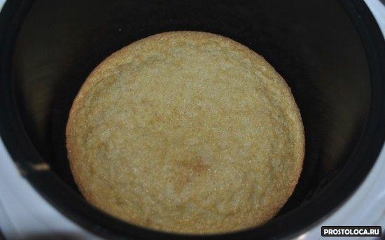 бисквит в мультиварке