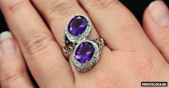 оригинальное серебряное кольцо