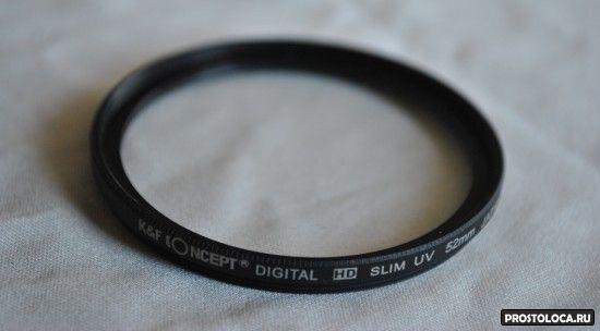 UV фильтра на объектив