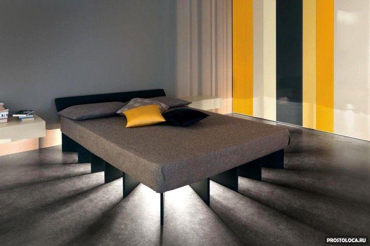 кровать с подсветкой