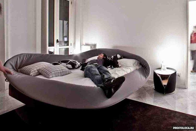 кровать с мягкими бортами