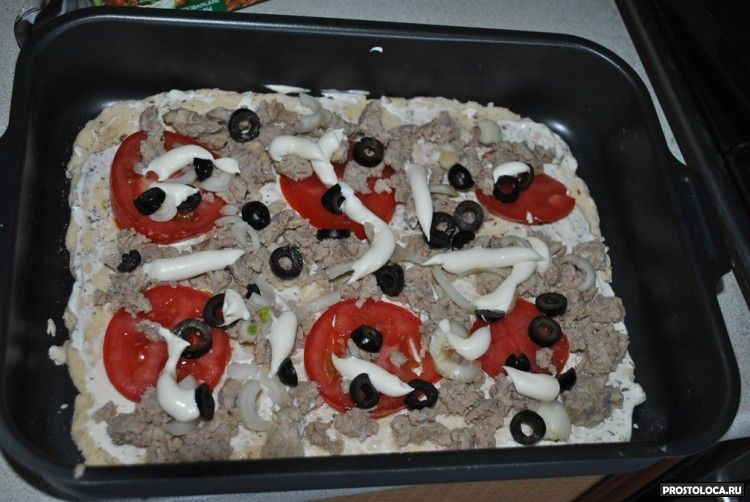 пицца с прованскими травами
