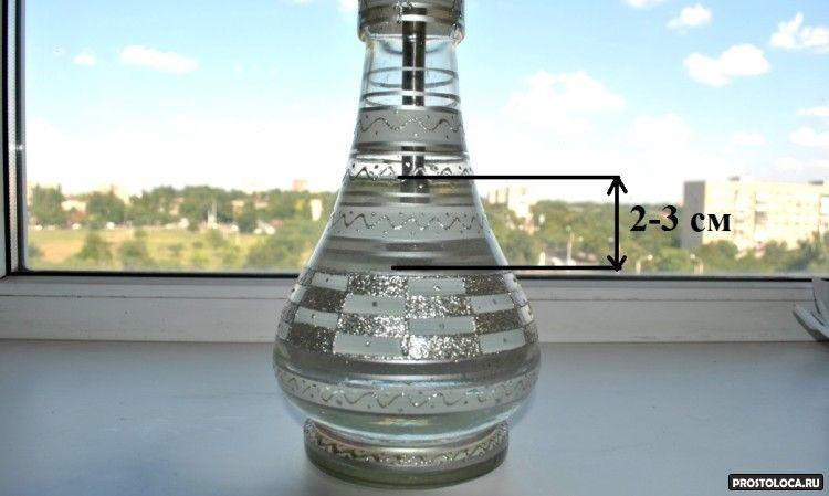 сколько воды лить в колбу кальяна