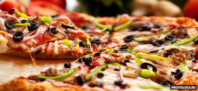 почему пицца круглая а коробка квадратная
