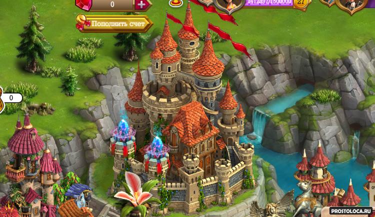 замок в игре верность