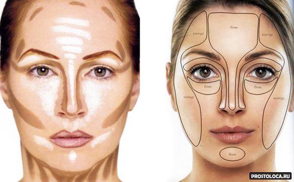 Правильно наносить макияж