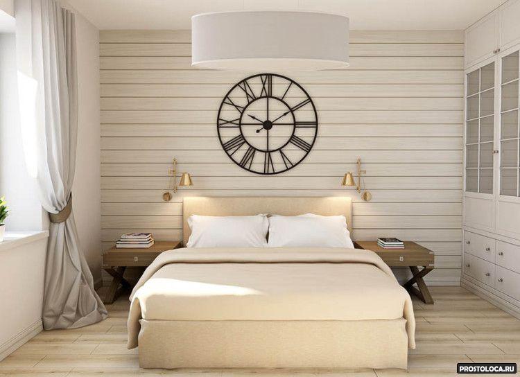 спальня в стиле лофт 12