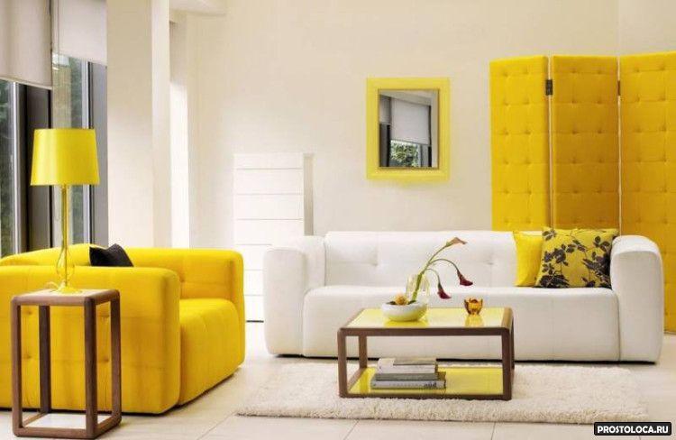 цвет гостиной 5