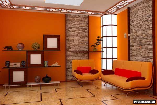 цвет гостиной 8