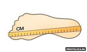 как узнать размер обуви