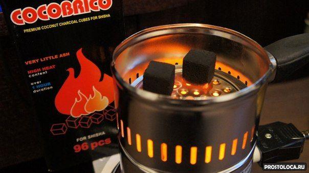 как разжечь уголь для кальяна 3
