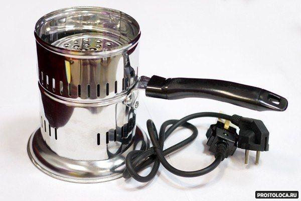 электрическая плита для розжига угля