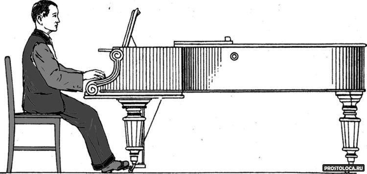посадка за фортепиано 2