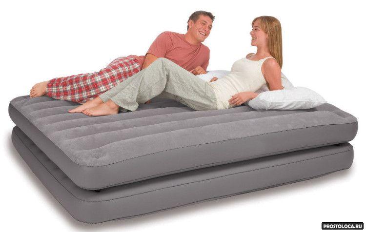 раскладушка или надувная кровать 2