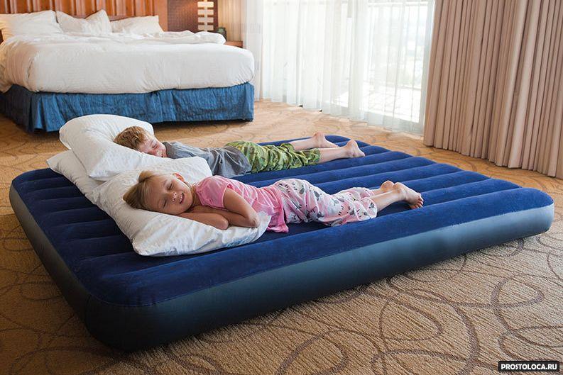 раскладушка или надувная кровать 4