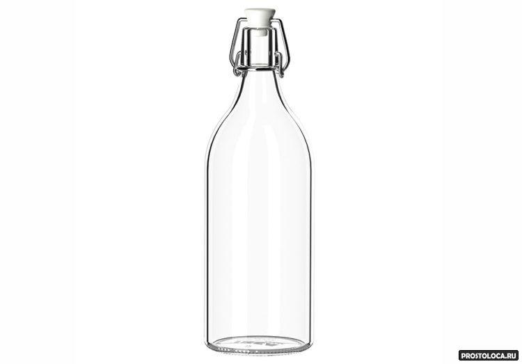 винные бутылки икеа
