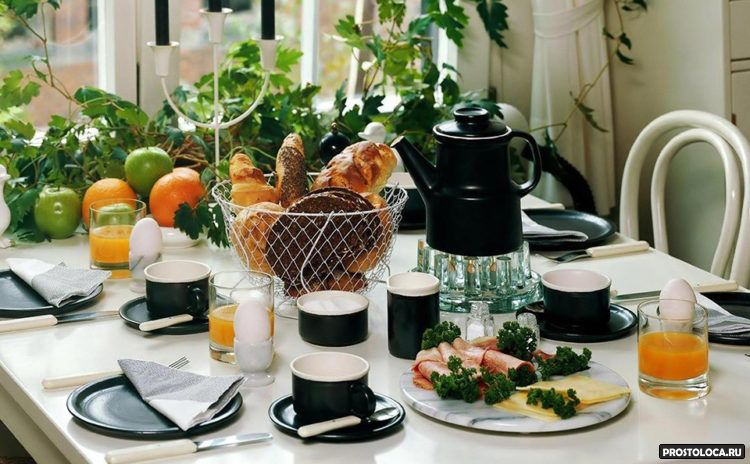 домашняя сервировка стола 12
