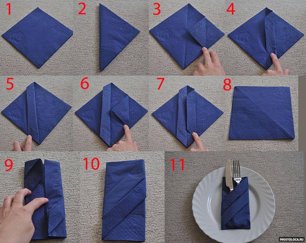 Салфетки бумажные для сервировки стола своими руками фото