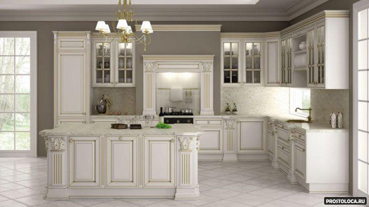 кухня в классическом стиле 10