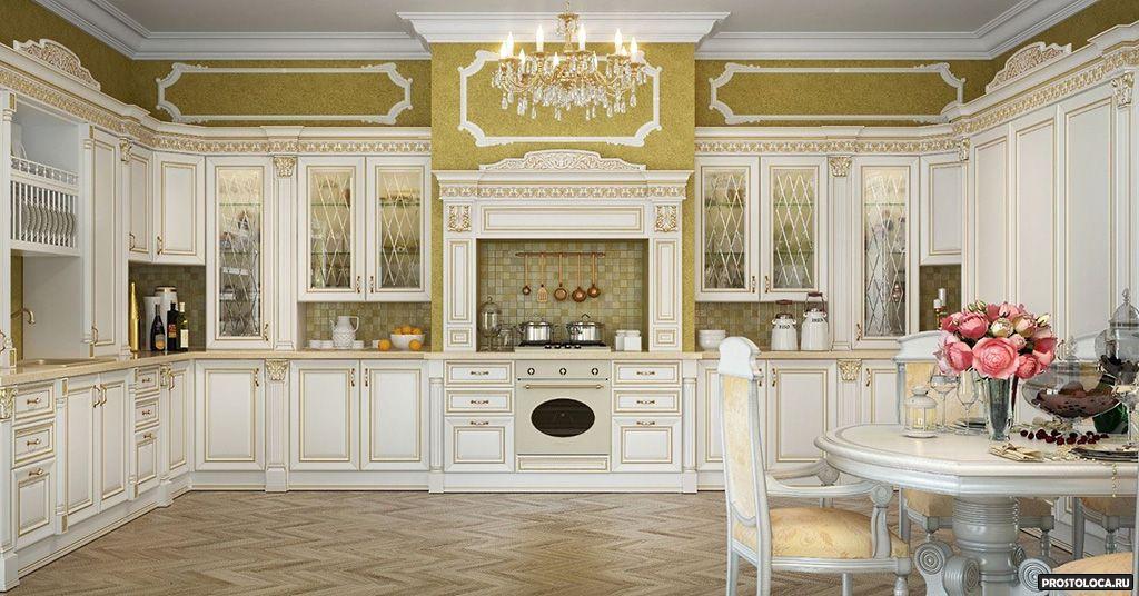 кухня в классическом стиле 13