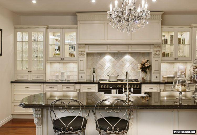 кухня в классическом стиле 7