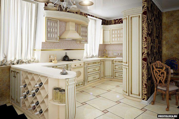 кухня в классическом стиле 9